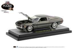 Ford Mustang - 1970 green/black - 1:24 - M2 Machines - 40300-78B - M2-40300-78B | Toms Modelautos