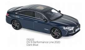 Citroen  - DS 9 2020 dark blue - 1:43 - Norev - 170031 - nor170031 | Toms Modelautos