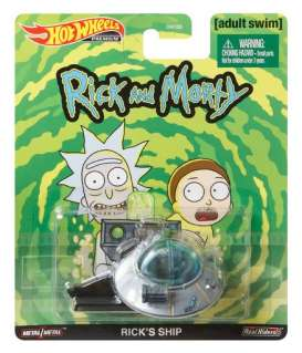 non  - Rick & Morty *Ricks Ship*  - 1:64 - Hotwheels - GJR47 - hwmvGJR47 | Toms Modelautos