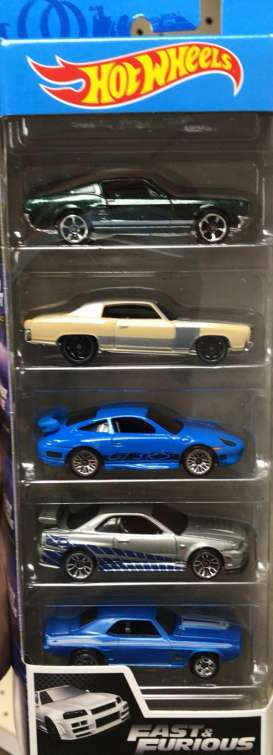 Assortment/ Mix  - Fast & The Furious 2020 various - 1:64 - Hotwheels - GMG69 - hwmvGMG69 | Toms Modelautos