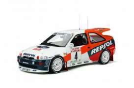 Ford  - Escort 1996 white/red - 1:18 - OttOmobile Miniatures - OT844 - otto844 | Toms Modelautos