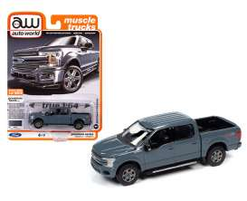Ford  - F-150 2018 grey - 1:64 - Auto World - SP041A - AWSP041A | Toms Modelautos