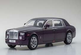 Rolls Royce  - 2015 purple - 1:18 - Kyosho - 8841tp - kyo8841tp | Toms Modelautos
