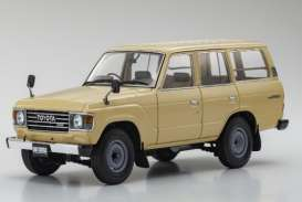 Toyota  - Land Cruiser  beige - 1:18 - Kyosho - 08956be - kyo8956be | Toms Modelautos