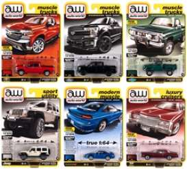Assortment/ Mix  - various - 1:64 - Auto World - 64282B~6 - AW64282B | Toms Modelautos