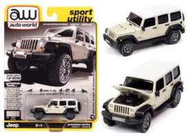 Jeep  - Wrangler 2018 beige - 1:64 - Auto World - SP054B - AWSP054B | Toms Modelautos