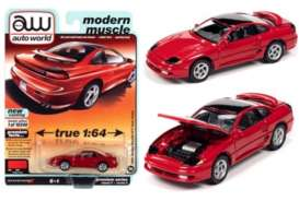 Dodge  - Stealth 1991 red - 1:64 - Auto World - SP056A - AWSP056A | Toms Modelautos