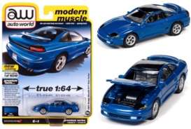 Dodge  - Stealth 1991 blue - 1:64 - Auto World - SP056B - AWSP056B | Toms Modelautos