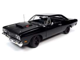 Plymouth  - RR 1969 black - 1:18 - Auto World - AMM1232 - AMM1232 | Toms Modelautos