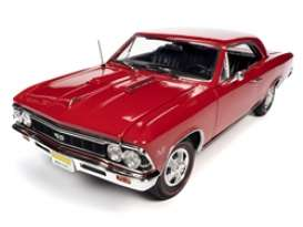 Chevrolet  - Chevelle SS 1966 red - 1:18 - Auto World - AMM1233 - AMM1233 | Toms Modelautos