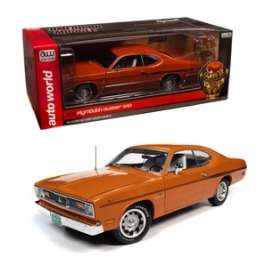 Plymouth  - Duster 1970 orange - 1:18 - Auto World - AMM1239 - AMM1239 | Toms Modelautos