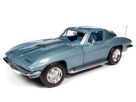 Chevrolet  - Corvette 1967 blue - 1:18 - Auto World - AMM1241 - AMM1241 | Toms Modelautos