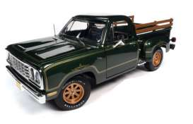 Dodge  - 1977 green - 1:18 - Auto World - AMM1243 - AMM1243 | Toms Modelautos