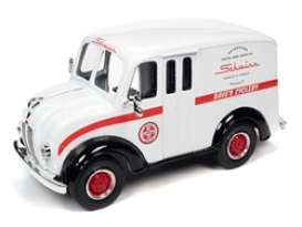 Divco  - 1950 white/black - 1:24 - Auto World - 24009 - AW24009 | Toms Modelautos