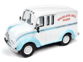 Divco  - 1950 white/blue - 1:24 - Auto World - 24010 - AW24010 | Toms Modelautos