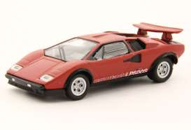 Lamborghini  - Countach LP500S red - 1:64 - Kyosho - 6930A1 - kyo6930A1 | Toms Modelautos