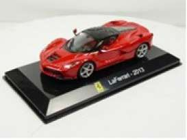 Ferrari  - Laferrari 2013 red - 1:43 - Magazine Models - magSCLaferrari | Toms Modelautos