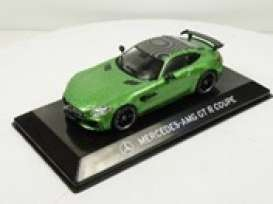 Mercedes Benz  - AMG GT-R green - 1:43 - Magazine Models - magSCMBAMG | Toms Modelautos