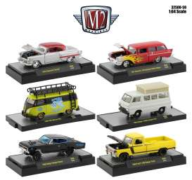 Assortment/ Mix  - various - 1:64 - M2 Machines - 32500-59 - M2-32500-59 | Toms Modelautos