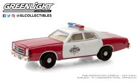 Dodge  - Monaco 1977 white/red - 1:64 - GreenLight - 30203 - gl30203 | Toms Modelautos