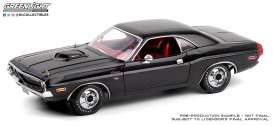 Dodge  - Challenger black/red - 1:18 - GreenLight - 13585 - gl13585 | Toms Modelautos