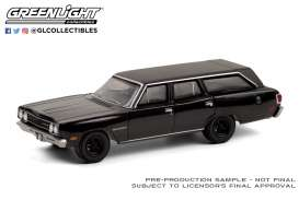 Plymouth  - Satellite 1970 black - 1:64 - GreenLight - 28050A - gl28050A | Toms Modelautos