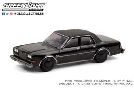 Plymouth  - Gran Fury 1987 black - 1:64 - GreenLight - 28050C - gl28050C | Toms Modelautos