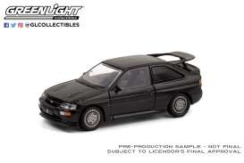 Ford  - Escort RS 1994 black - 1:64 - GreenLight - 28050D - gl28050D | Toms Modelautos