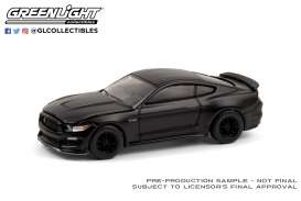 Ford  - Mustang 2016 black - 1:64 - GreenLight - 28050E - gl28050E | Toms Modelautos