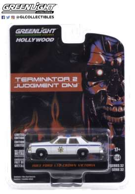 Ford  - LTD 1983 white - 1:64 - GreenLight - 44920D - gl44920D | Toms Modelautos