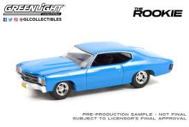 Chevrolet  - Chevelle 1971 blue - 1:64 - GreenLight - 44920F - gl44920F | Toms Modelautos
