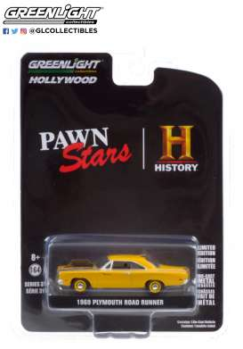 Plymouth  - Road Runner 1969  - 1:64 - GreenLight - 44910D - gl44910D | Toms Modelautos