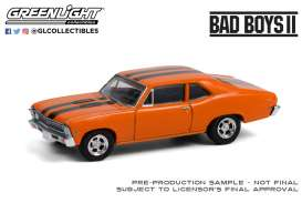 Chevrolet  - Nova  1968  - 1:64 - GreenLight - 44910F - gl44910F | Toms Modelautos