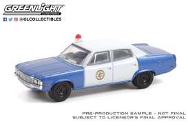 AMC  - Matador 1972 blue - 1:64 - GreenLight - 30219 - gl30219 | Toms Modelautos