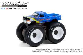 Ford  - F-250 Monster Truck 1979 blue - 1:64 - GreenLight - 49090A - gl49090A | Toms Modelautos