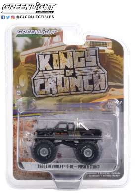 Chevrolet  - S-10 1986 black - 1:64 - GreenLight - 49090B - gl49090B | Toms Modelautos