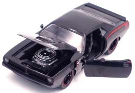 Plymouth  - Barracuda 1973 black - 1:24 - Jada Toys - 31460 - jada31460bk | Toms Modelautos
