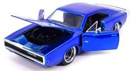Dodge  - Charger 1973 candy blue - 1:24 - Jada Toys - 31865 - jada31865 | Toms Modelautos