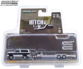 GMC  - Jimmy 1983 black/white - 1:64 - GreenLight - 32210A - gl32210A | Toms Modelautos