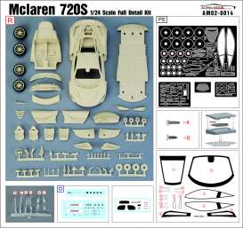 McLaren  - 720s  - 1:24 - Alpha Model - AM020014 | Toms Modelautos