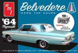 Plymouth  - Belvedere 1964  - 1:25 - AMT - s1188 - amts1188 | Toms Modelautos