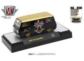 Ford  - Econoline 1963 black/gold - 1:64 - M2 Machines - 31500HS12 - M2-31500HS12 | Toms Modelautos