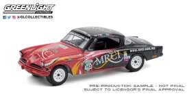 Studebaker  - Champion 1953 red/black - 1:64 - GreenLight - 13280A - gl13280A | Toms Modelautos