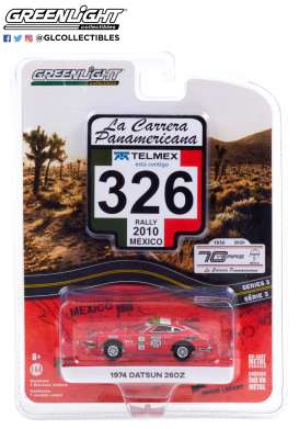 Nissan  - 260Z 1974 red - 1:64 - GreenLight - 13280D - gl13280D | Toms Modelautos