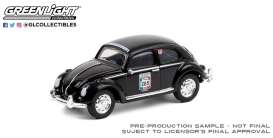 Volkswagen  - Beetle black - 1:64 - GreenLight - 13280F - gl13280F | Toms Modelautos