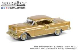 Chevrolet  - Bel Air 1955 gold - 1:64 - GreenLight - 30231 - gl30231 | Toms Modelautos