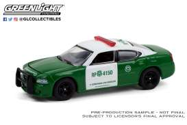 Dodge  - Charger 1987 green/white - 1:64 - GreenLight - 30237 - gl30237 | Toms Modelautos