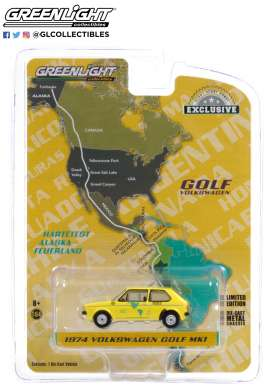 Volkswagen  - Golf Mk1 1974  - 1:64 - GreenLight - 30238 - gl30238 | Toms Modelautos