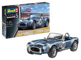 Shelby  - Cobra 1968  - 1:25 - Revell - Germany - 07669 - revell07669 | Toms Modelautos