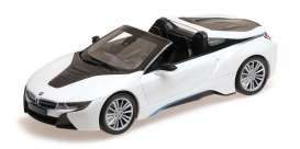 BMW  - i8 roadster 2017 white metallic - 1:87 - Minichamps - 870027032 - mc870027032 | Toms Modelautos